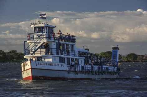 Traversée en ferry du lac Nicaragua - Nicaragua -