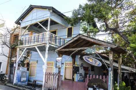 Maison colorée à San Juan del Sur - Nicaragua -