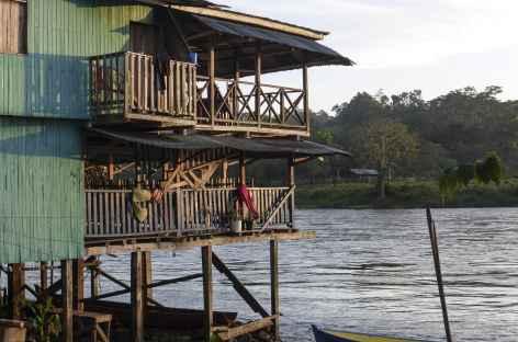 Ambiance au bord du rio San Carlos - Nicaragua -