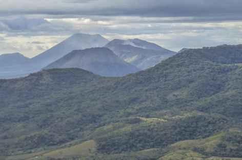 Depuis le Cerro Negro, belle vue sur la  -
