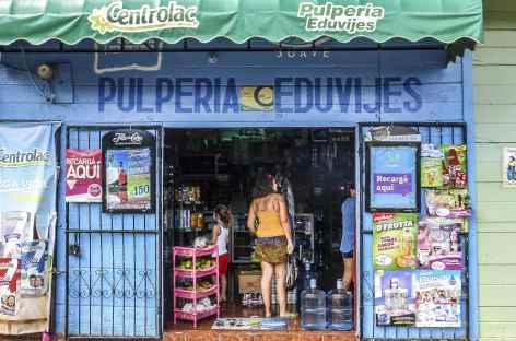 Une épicerie à San Juan del Sur - Nicaragua -