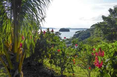 Vue sur le lac depuis une île de l'archipel Solentiname - Nicaragua -