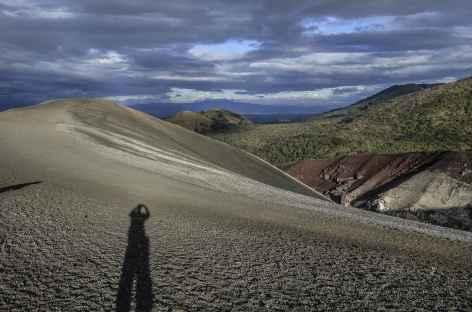 Panorama depuis le sommet du Cerro Negro - Nicaragua -