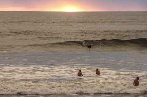 Coucher de soleil au bord du Pacifique - Nicaragua -