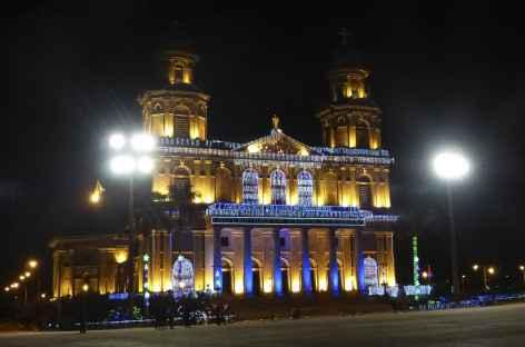 Balade nocturne à Managua - Nicaragua -