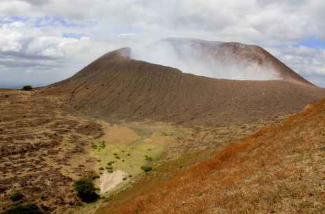 A l'approche du cratère du volcan Telica - Nicaragua -