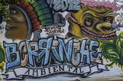 Un des nombreux murs peints de Léon - Nicaragua -