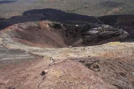 Un des cratères du Cerro Negro - Nicaragua -
