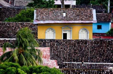 Maison colorée de Granada - Nicaragua -