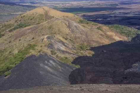 Les coulées de lave du Cerro Negro - Nicaragua -