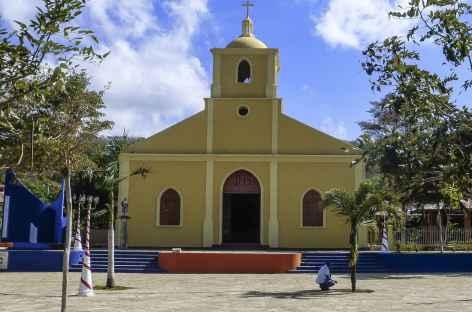 L'église pimpante de San Juan del Sur - Nicaragua  -