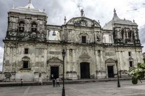Une église à Léon - Nicaragua -