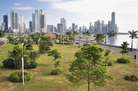 Panama City, quartier moderne au bord du Pacifique - Panama -