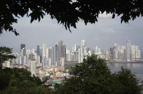Vue panoramique sur la ville de Panama - Panama -