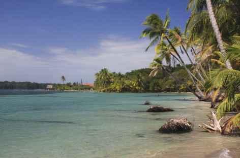 Archipel Bocas del Toro, balade sur les plages de l'île Colon - Panama -