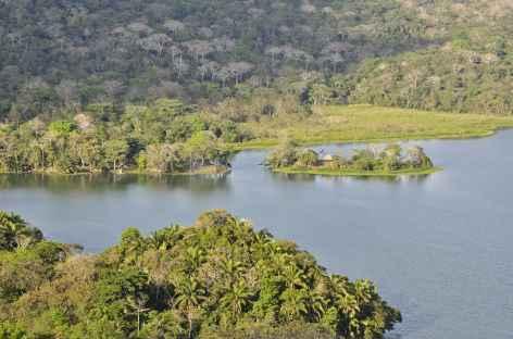 Parc national de San Lorenzo, vue sur le lac Gatun - Panama -