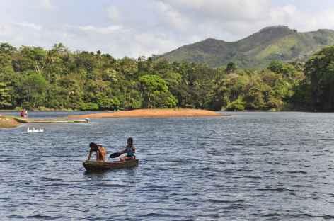 Navigation au cœur du parc national Chagres - Panama -