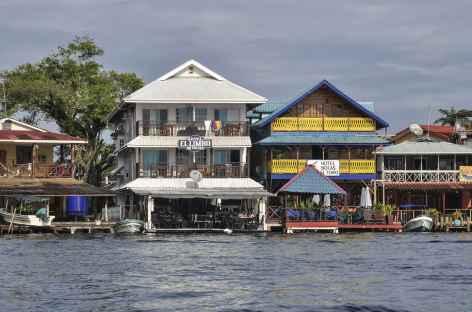 Archipel Bocas del Toro, arrivée sur l'île Colon - Panama -