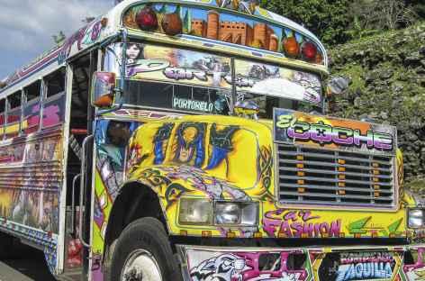 Les fameux bus panaméens - Panama -