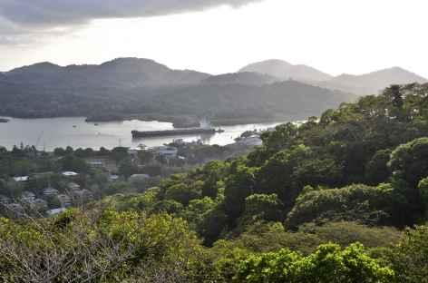 Parc national de San Lorenzo, vue sur le canal de Panama - Panama -