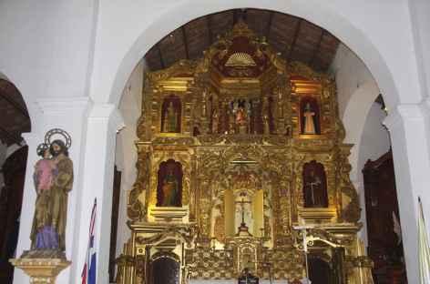 Une église baroque à Panama City - Panama -