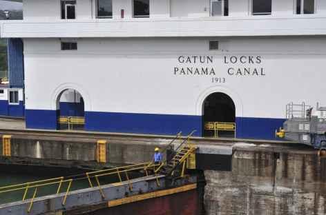 Les écluses de Gatun - Panama -
