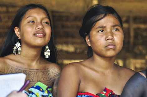 Rencontre chez les Emberas - Panama -