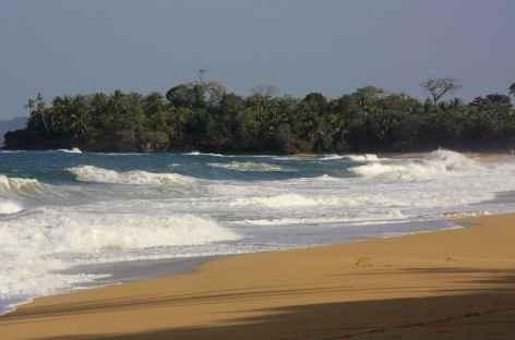 Playa Bluff, plage sauvage sur Bocas del Toro - Panama -