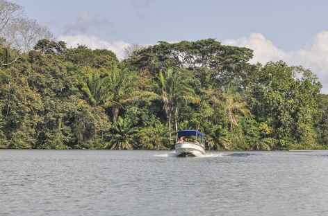 Balade en bateau sur le lac Gatun - Panama -