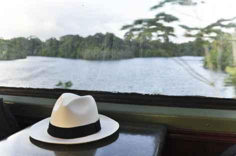 En train entre Colon et Panama City - Panama -