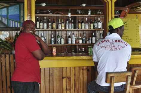 Ambiance afro-caribéenne à Bocas del Toro - Panama -