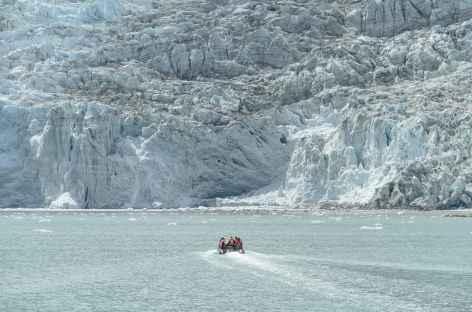 Croisière en Patagonie, glacier Pia -