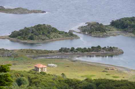 Croisière en Patagonie, baie de Wulaia -