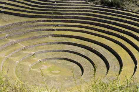 Le site inca de Moray dans la Vallée Sacrée - Pérou -