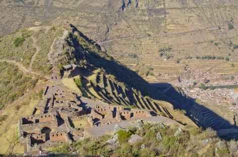 Le site inca de Pisac dans la Vallée Sacrée - Pérou -