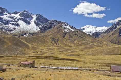 Le col de la Raya entre Puno et Cusco - Pérou -
