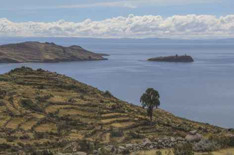 Le mirador Inca Karus et l'île d'Amantani - Pérou -