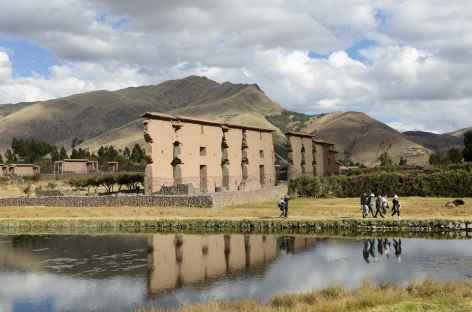 Sur le site de Raqchi - Pérou -