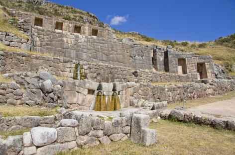 Le site inca de Tambo Machay dans la Vallée Sacrée - Pérou -