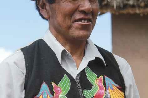 Notre hôte pour le déjeuner à Paramis - Pérou -