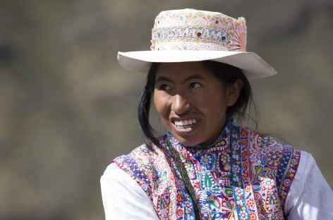 Rencontre dans le canyon de Colca - Pérou -