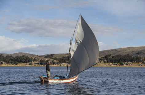 Ambiance sur le lac - Pérou -