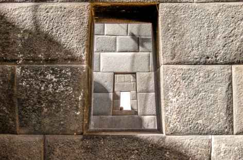 Cusco, intérieur du temple du Soleil - Pérou -
