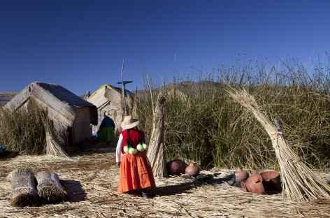 Sur les îles Uros - Pérou -