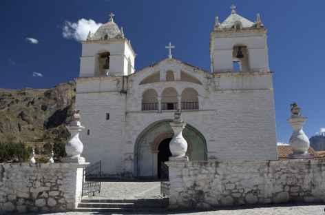 Une belle église coloniale - Pérou -