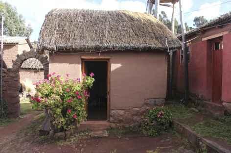 Installation chez l'habitant à Llachon - Pérou -