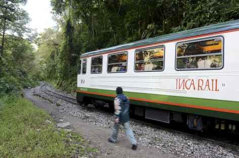 En train vers Aguas Calientes - Pérou -