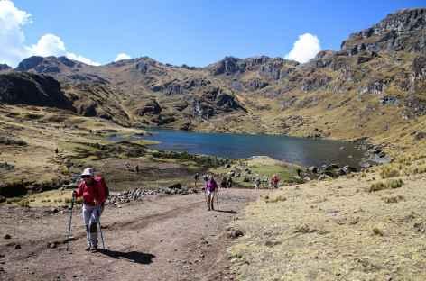 Lagune avant Amaru - Pérou -