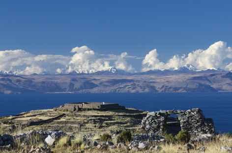 Sur l'île d'Amantani - Pérou -
