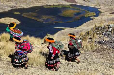 Autre lagune sur le trek - Pérou -